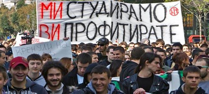 VELIKI STUDENTSKI PROTEST